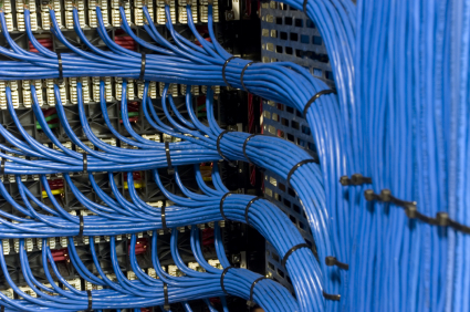 Server room structured cabling