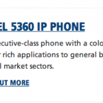 Mitel 5360 IP Application Phone