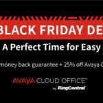 Black Friday sale on AVAYA Cloud Office
